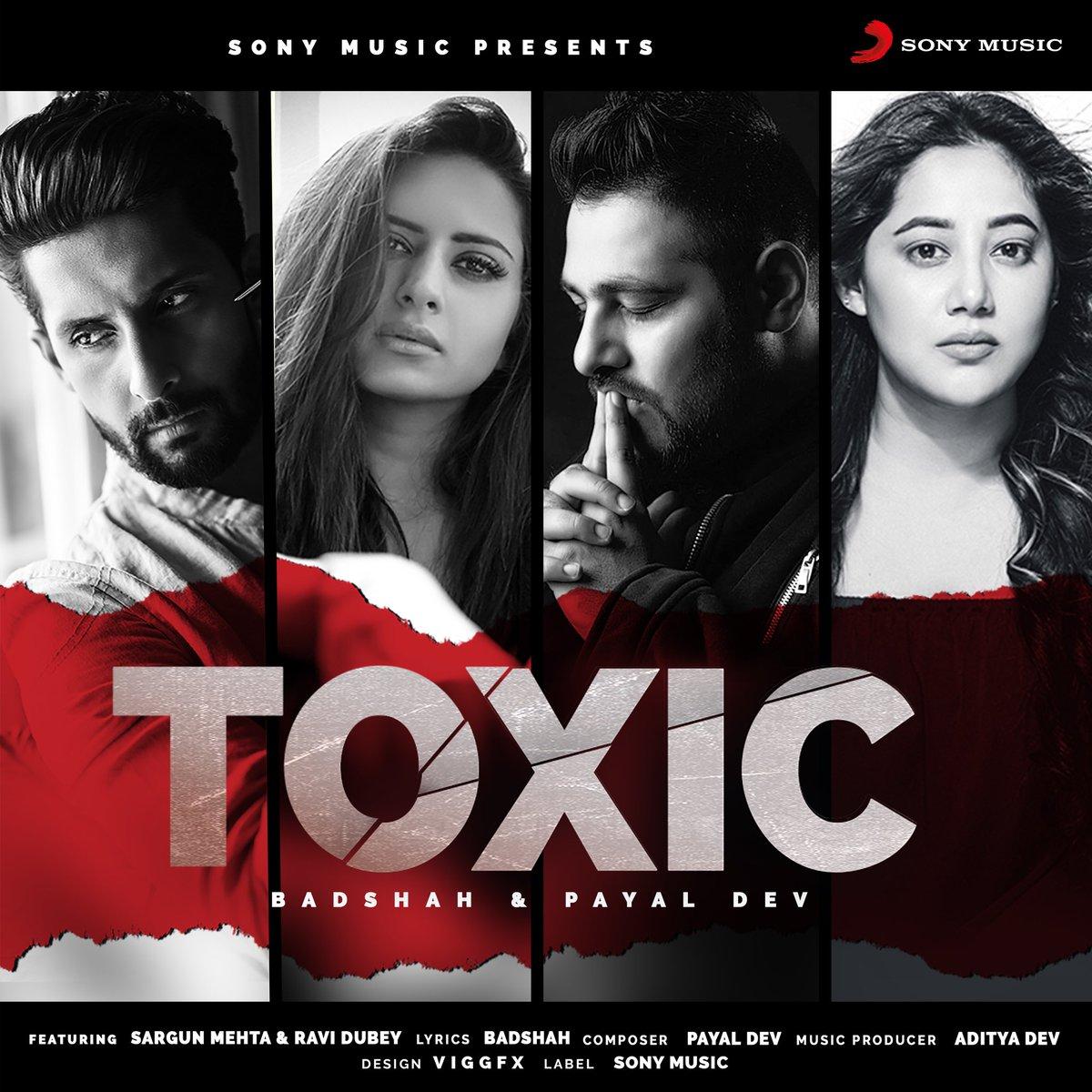 Ye pyaar kya hai? @_ravidubey @sargun_mehta @adityadevmusic @Payaldev1 @sonymusicindia @SonyMusicNorth #toxic