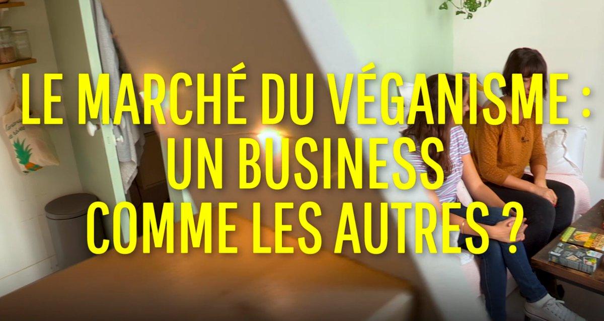Salut la pigeonsphère ! On s'est intéressé au marché du véganisme, est-ce un business comme un autre ? La réponse dimanche !  Vous avez nos autres vidéo ici : https://t.co/qJdKC63qal @francetvslash #ONPDP #Vegan https://t.co/Ae9K4x9cV9