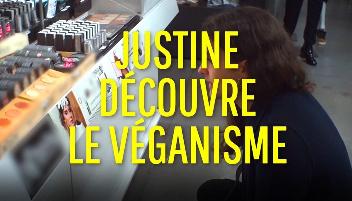 Justine s'est intéressée de près au véganisme. Avez-vous vu la vidéo ? Elle est juste ici ➡️ https://t.co/Jd2NT4NcmC @francetvslash #ONPDP #Vegan https://t.co/EdYb1G2ALf