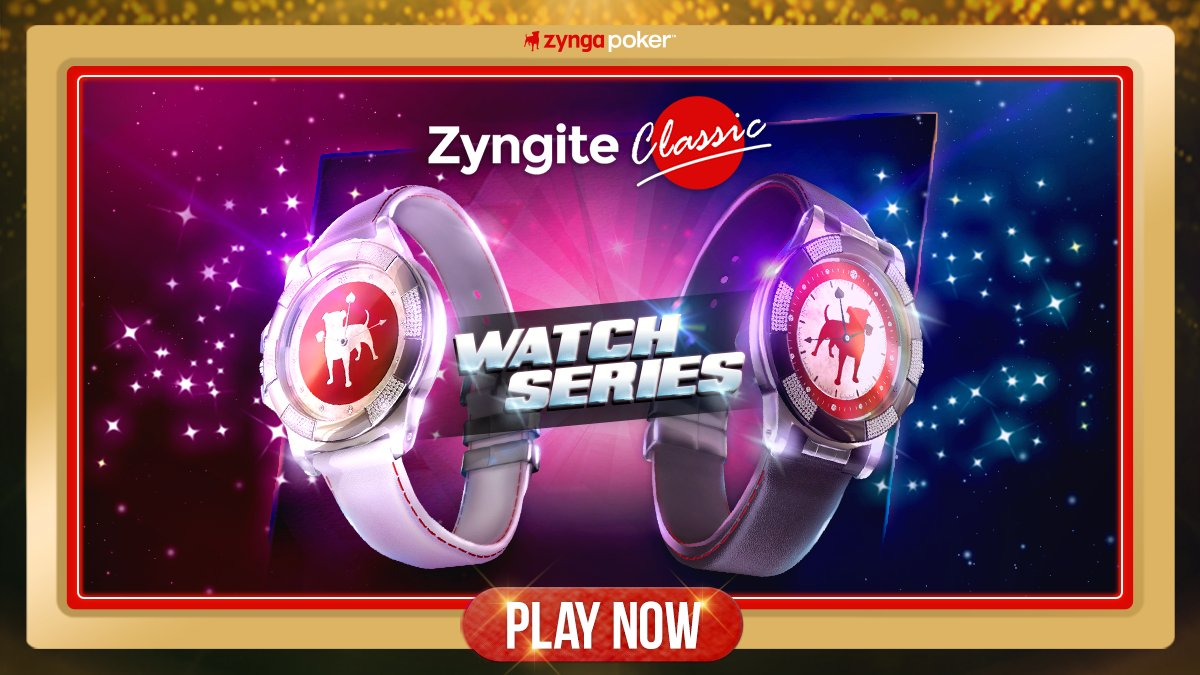 Zyngapoker On Twitter The Zyngite Classic Is The First Tier Watch That You Can Earn And Will Let Your Opponents Know That You Ve Been Around The Block Players Sporting This Piece Of