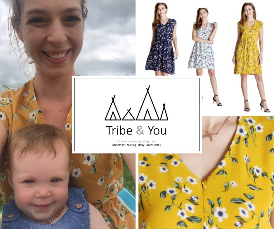 Sunshine!  Yay! We've got a fabulous summer nursing dress perfect for this weather!  http://www.tribeandyou.com   Herts Live #iamopen #hertsbusiness #localbusiness #nursingclothing #breastfeeding #nursingclothes #baby pic.twitter.com/4U27pG6GJG