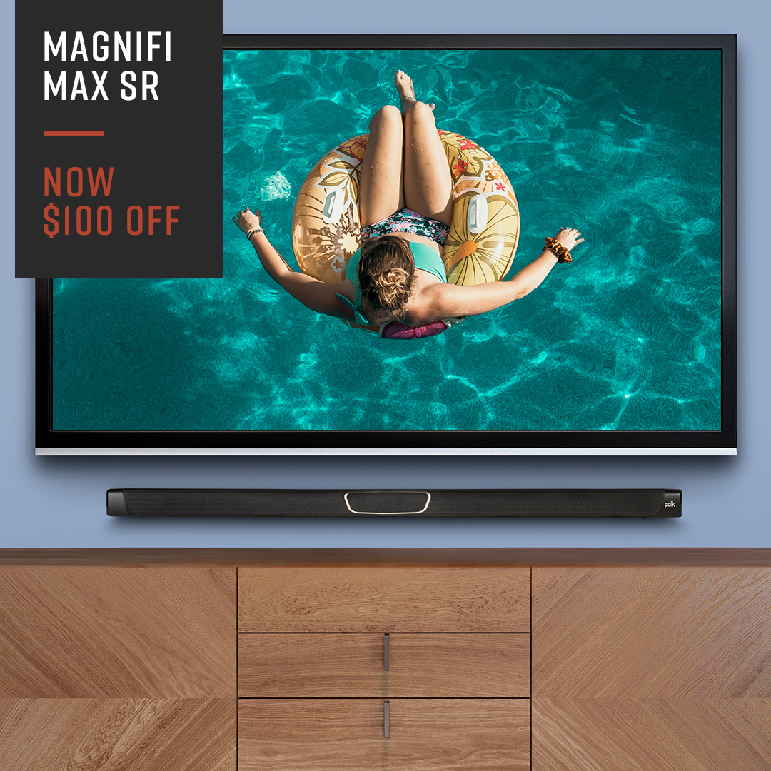Whether you want to make your summer #movies sound better with a #soundbar. Or simply want to up the ante on your #outdoor fun with the Atrium series #outdoorspeakers, we've got you covered.   For a limited time, a wide variety of our products are #onsale: https://t.co/fnhZe1T5S5 https://t.co/X9t9iIHioP