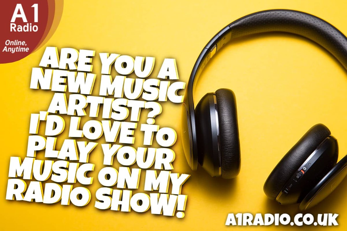 Are you a new music artist/band or do you know a new music artist/band? I'd love to play your music on my radio show! Leave a comment below and if I choose you, I will be in touch! ________ #newmusic #NewMusicFriday #staysafe #music #radio #radioshow #radioshowhost #newsounds<br>http://pic.twitter.com/iGf0KPpCr4