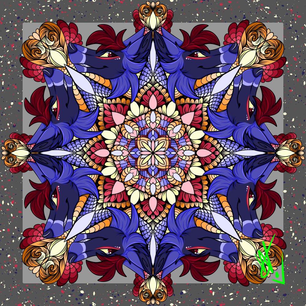 ♡♡♡ Mandala created by @rokyoxue  #mandala #rokyo #mandalaobscurity #mandalaart #mandala_addict #mandalartist #mandala_sharing #mandaladesign #mandalas #mandaladrawing #furryart #furry #furryartistspic.twitter.com/kip2LecuKU