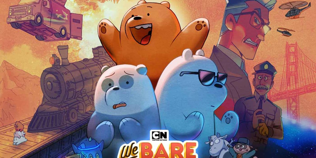 #WeBareBears Cast Announces Movie With Surprise Trailer buff.ly/3gd0rmL