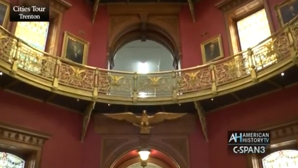 Were missing seeing thousands of school children on field trips this spring, but thanks to @CSPANCities we can still provide a video tour of the nations third oldest State House. Pass this along to your favorite #Jerseyteacher! c-span.org/video/?427451-… @NewJerseyDOE @NJEA