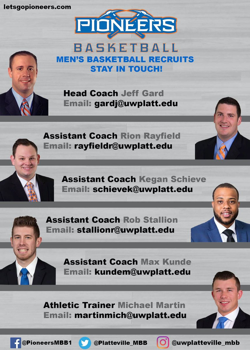 With everything going on right now, our staff would like all recruits to know they can reach out at any time! Please don't hesitate and stay safe! #PioneerNation #SwingTheAxe https://t.co/7bhF9Z0z7w