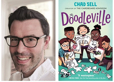 "test Twitter Media - Chad Sell believes that ""drawing and storytelling are an amazing kind of magic"". The author visits our book tour to share how he does this in his latest graphic novel, Doodleville.  Visit our blog to hear an exclusive recording from the author & much more! https://t.co/yfvdQ8EsfO https://t.co/GGH3Ok6pao"