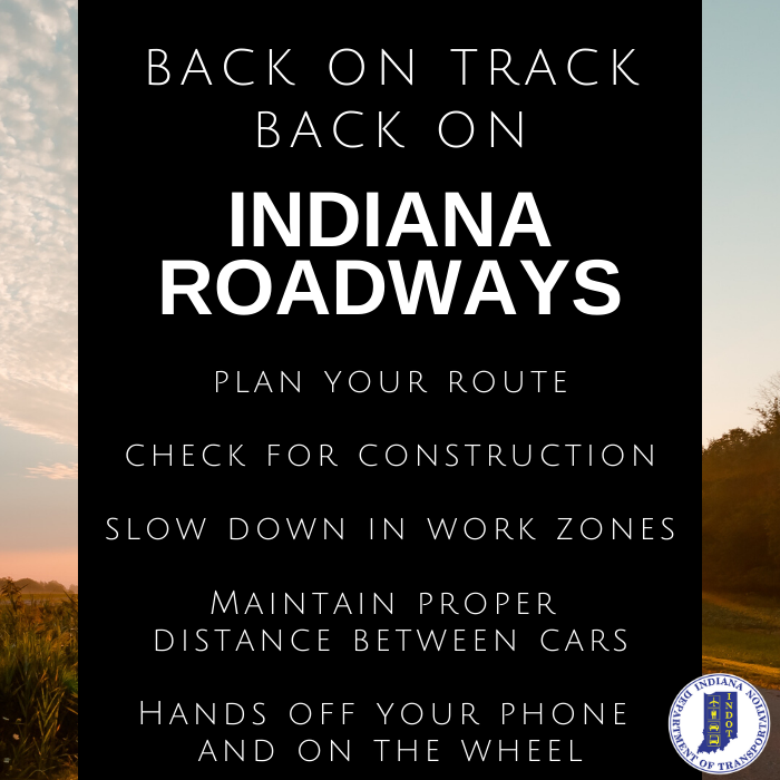 How many times have you filled your tank since Gov Holcomb's stay at home order began? If it's just a couple, check out the tips below on how to reacquaint yourself to daily driving. #BackOnTrack