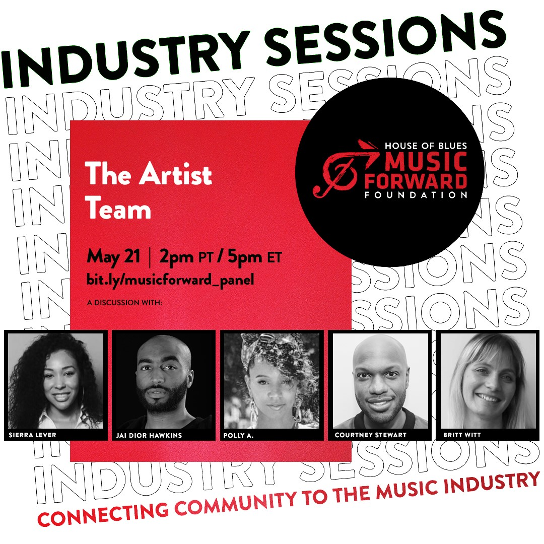 "Join @hobmusicforward for a candid convo on the inner-workings of ""The Artist Team"" as industry professionals share insights on the careers of artists they work with including Khalid, Mariah Carey, Billie Eilish and more. Get it on your calendar at bit.ly/musicforward_p…"