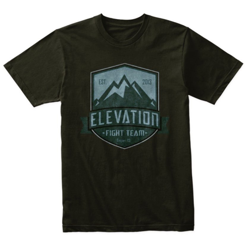 Did you get your official Elevation Fight Team gear yet? If not, order now and be ready to represent for our next fighters on June 6th! ➡️ https://t.co/2v2MWKqvGk https://t.co/X0pV197j6p