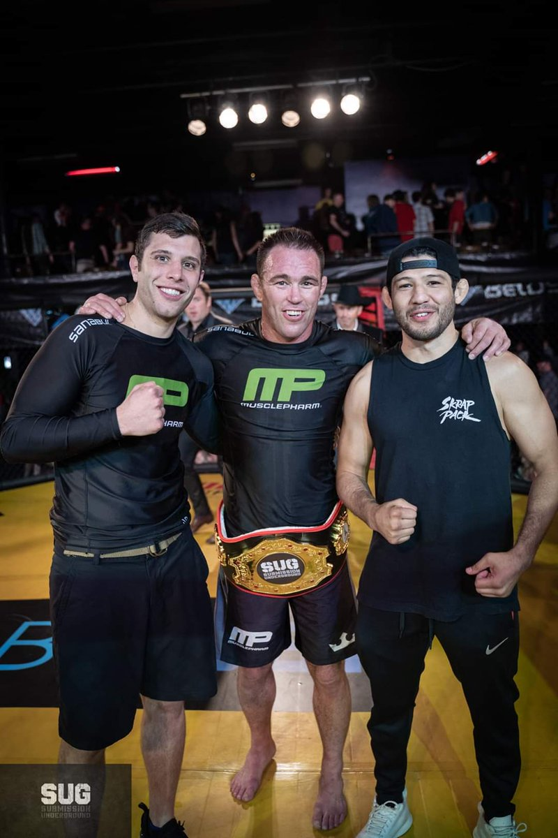 #TBT to Jake Shields last win in the Submission Underground cage at #SUG8. Shields got the overtime victory against Austin Vanderford. Gilbert Melendez was also on the card, nabbing a win over Pat Healy.   Shields returns for #SUG14 on May 31st vs Brent Primus @UFCFightPass https://t.co/XviRQBiCBv