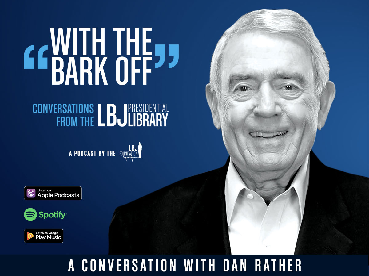 The @LBJFoundation & @LBJLibrary have been a forum for thoughtful discussion of the issues of our time. I joined @MarkKUpdegrove to put this current crisis in historical perspective for a new episode of With the Bark Off. Listen to our conversation here: with-the-bark-off.simplecast.com/episodes/dan-r…