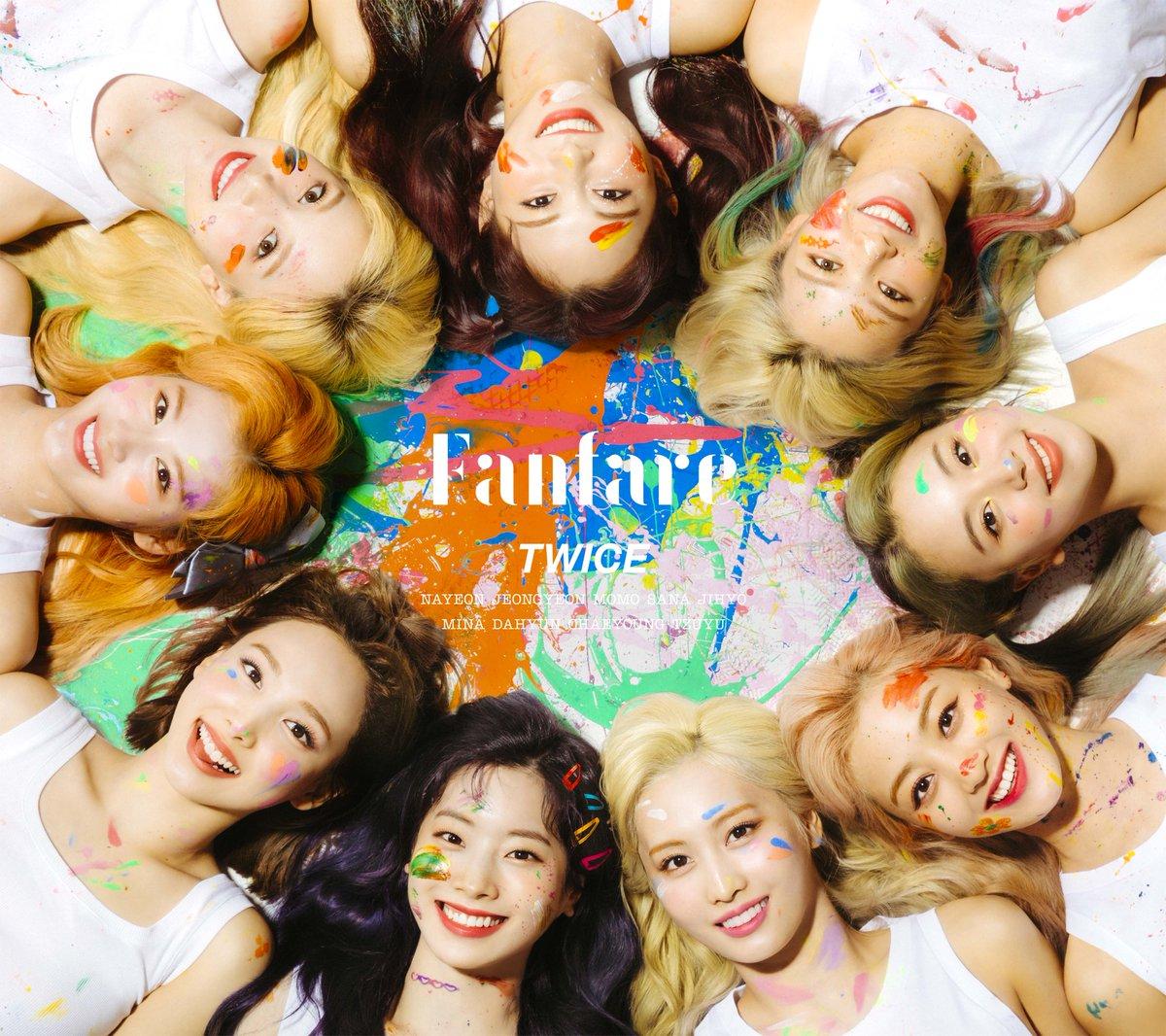 TWICE JAPAN 6th SINGLE 『Fanfare』 2020.07.08 Release twicejapan.com/feature/Fanfare #TWICE #Fanfare