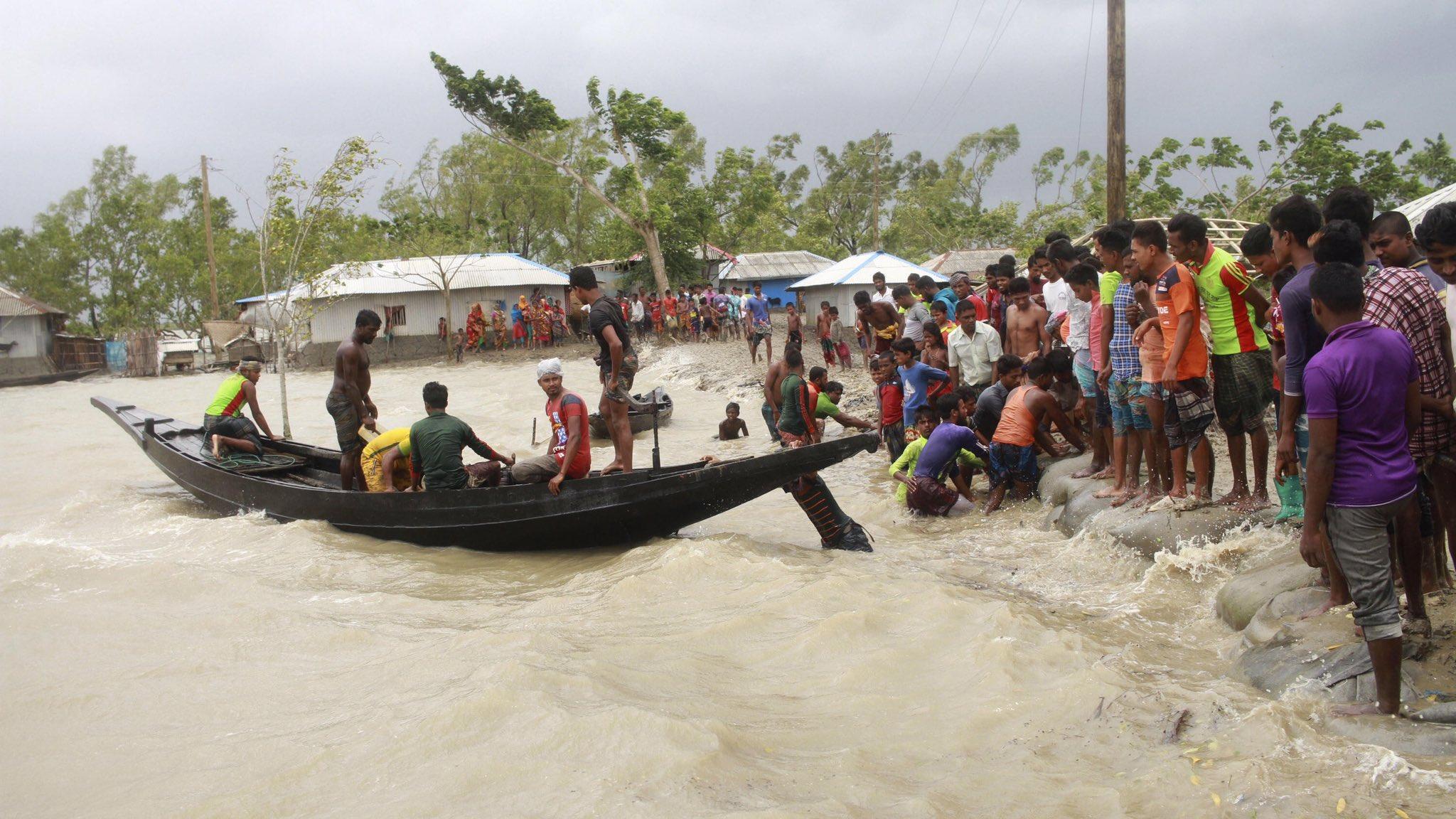 Ciclón Amphan en India también deja severas afectaciones