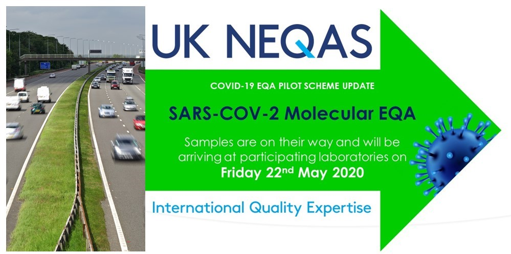 Participating #UnitedKingdom laboratories will receive their #SARSCoV2 Molecular #EQA samples tomorrow, #Friday 22nd #May2020. HUGE thanks going out to all personnel involved for making this happen. #Covid19UK #Covid19 #TeamUKNEQAS #makingadifference pic.twitter.com/PbeMFaSEGy