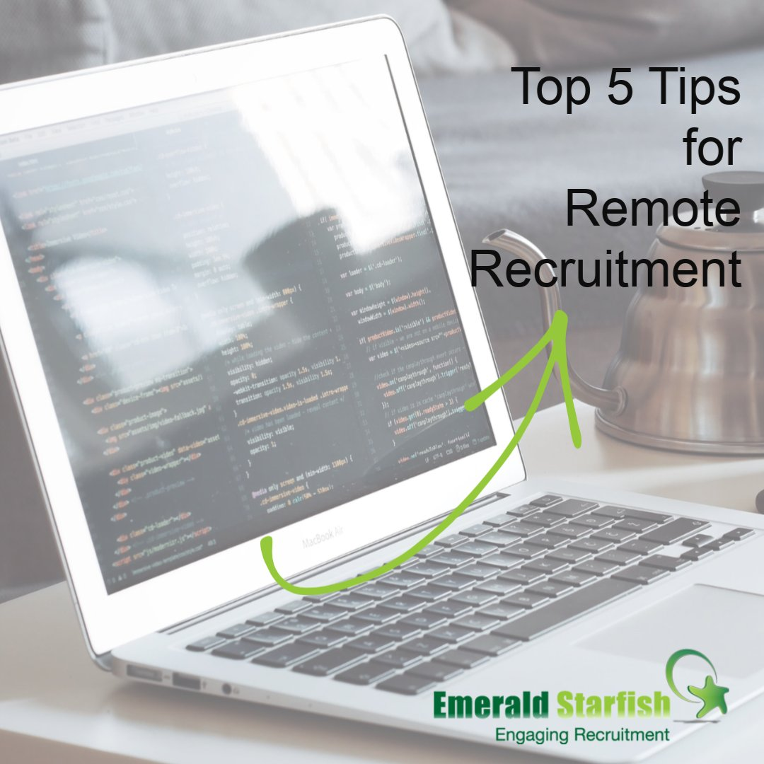 RT @CarolineHuntUK: NEW BLOG! Read our top 5 tips for #remoterecruitment https://bit.ly/2WPMTGf  #lockdown #videointerviewing pic.twitter.com/DW4MXsZsWQ  #JCPinLincs