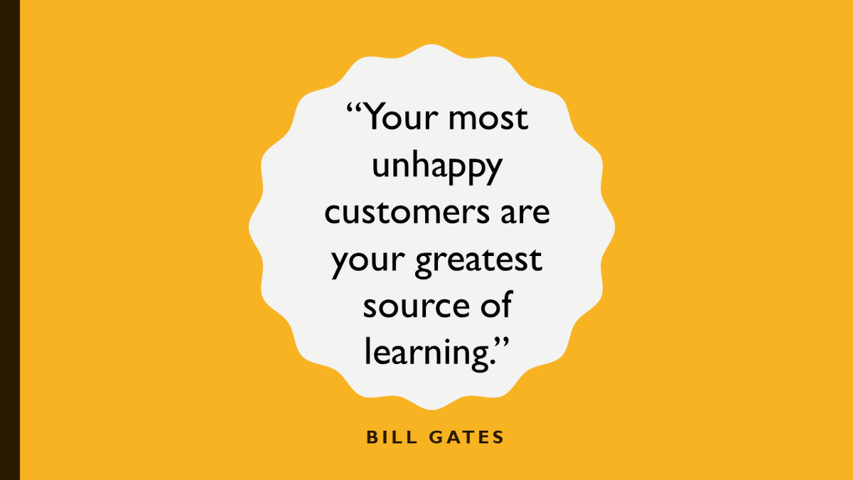 Never stop learning from your customers. #marketing #inspiration #CustomerService pic.twitter.com/NezfsBFVsY