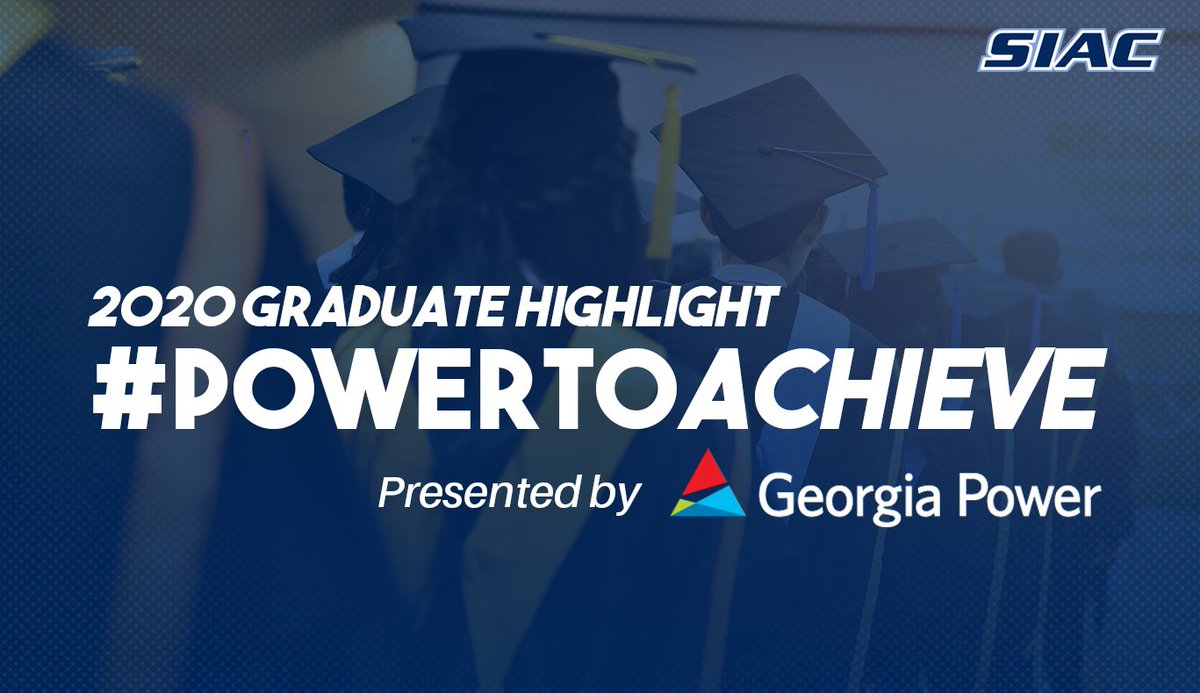 The SIAC and @GeorgiaPower have partnered for the #PowerToAchieve campaign to highlight graduating  student-athletes and their achievements. Congratulations to Abhinav Walia of @ASUGoldenRams  for his outstanding academic and athletic achievements. #SIAC #GAPower #Classof2020 https://t.co/1SYzv0ohYW