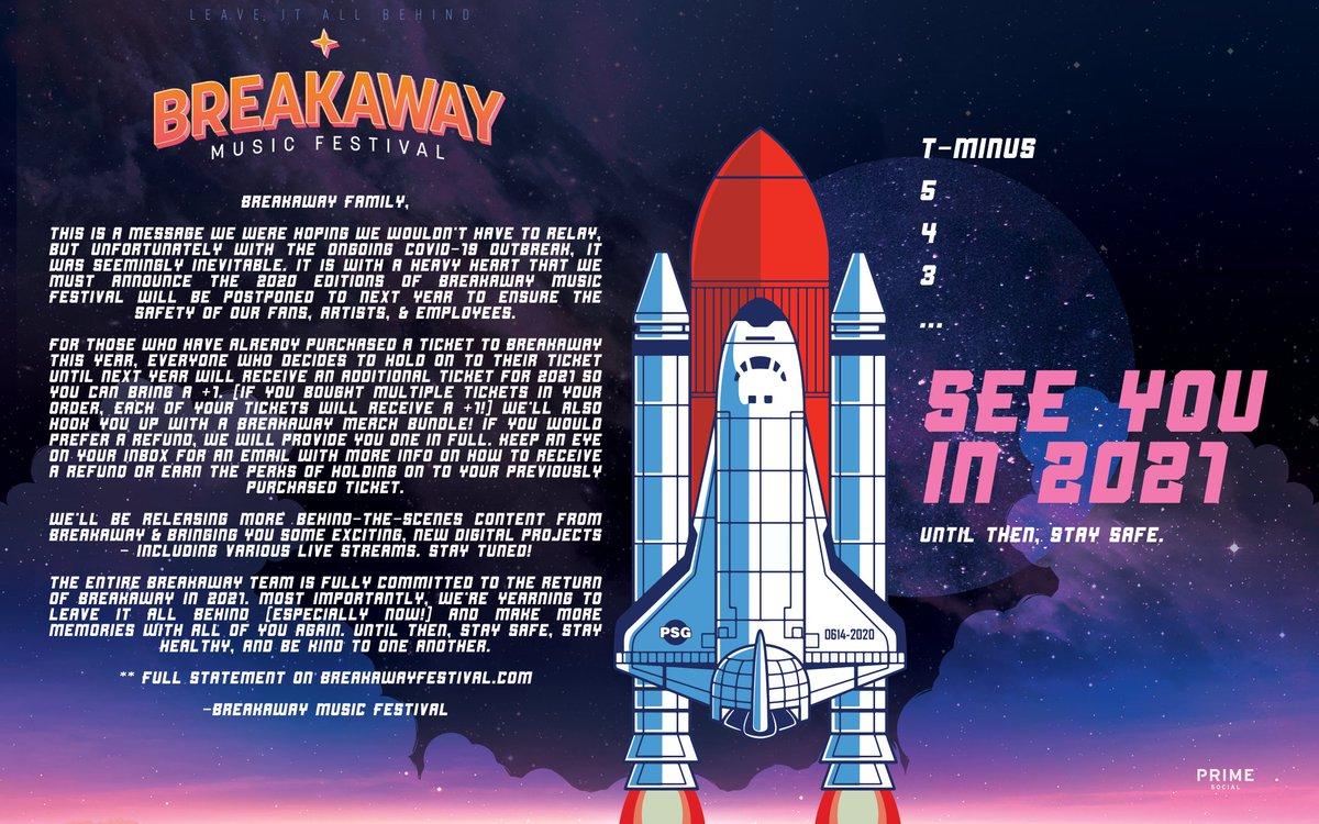 Breakaway Music Festival 2020