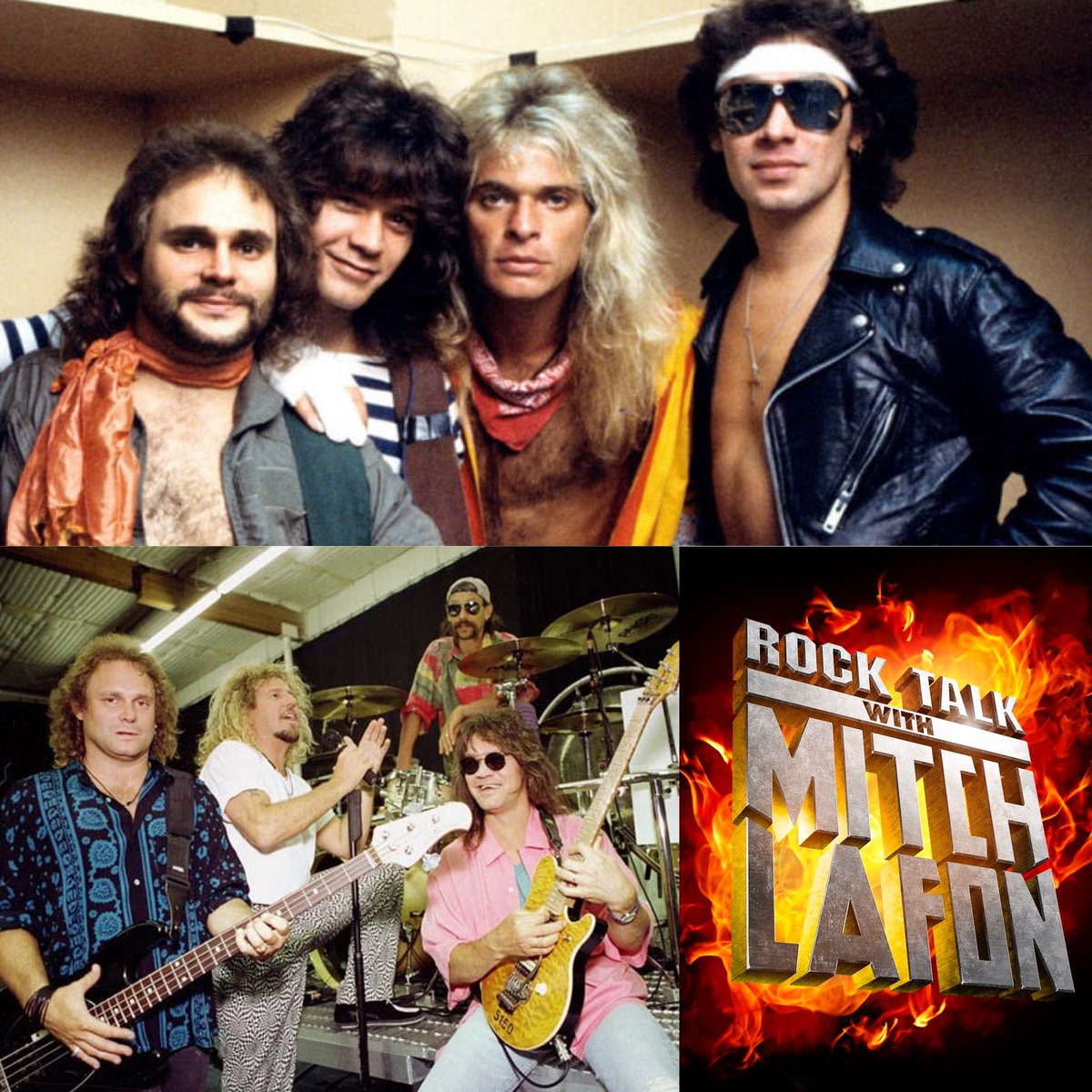 Would you rather have a new VAN HALEN album with David Lee Roth or Sammy Hagar? <br>http://pic.twitter.com/nWIYIWJJLx
