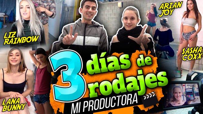 ❤ ¡¡NUEVO VÍDEO!! ❤  3 días de intensos rodajes con CUATRO bellas damas :) https://t.co/nZghYG4s1B  VERSIÓN