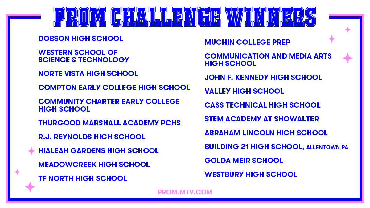 We Won!!   @MichelleObama surprised our @BeNobleMuchin student and we found out we are one of the WINNERS of the @WhenWeAllVote and @MTV 2020 #PromChallenge! We also got a first invite to the MTV virtual Prom-athon!! 🎓Class of 2020 get ready and save the date for May 22nd!