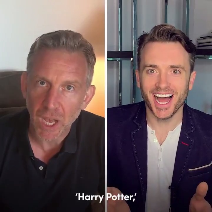 All aboard! In case you missed it, the cast of #CursedChildNYC joined @WizardingWorld for the latest #HarryPotterAtHome reading – Chapter Six: The Journey from Platform 9 3/4! Follow along on Harry's journey to Hogwarts by reading along with us:  ⚡️