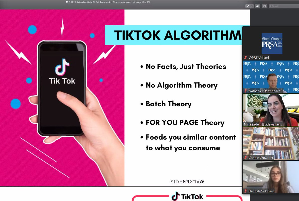 #TikTok is unleashing a new creative and influencer world. Leveraging the power of TikTok #influencers can make your brand stand out but make sure to be clear on your KPI's @SidewalkerDaily pic.twitter.com/LDeebIxpzL