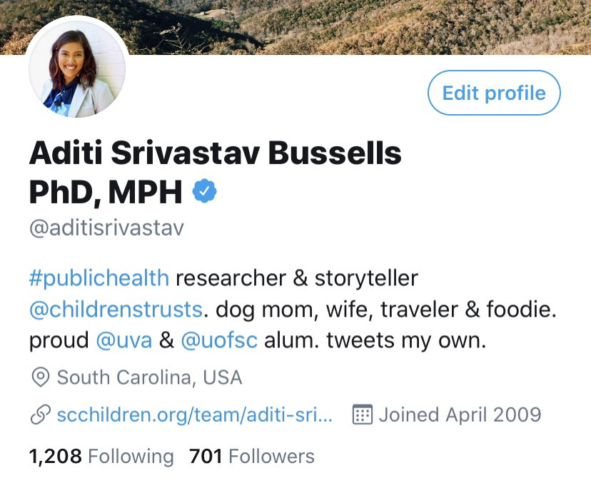 OMG IT HAPPENED! That blue check! YAY public health! #VERIFIED