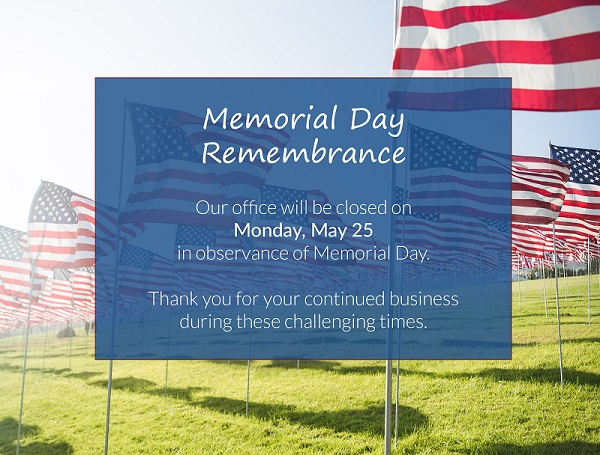ALPCO will be closed Monday 5/25 in observance of Memorial Day and our U.S. military who have made the ultimate sacrifice.  Our office will open again Tuesday 5/26 at 8 am.  We wish you a wonderful holiday weekend! https://t.co/6hYqfhJyxu