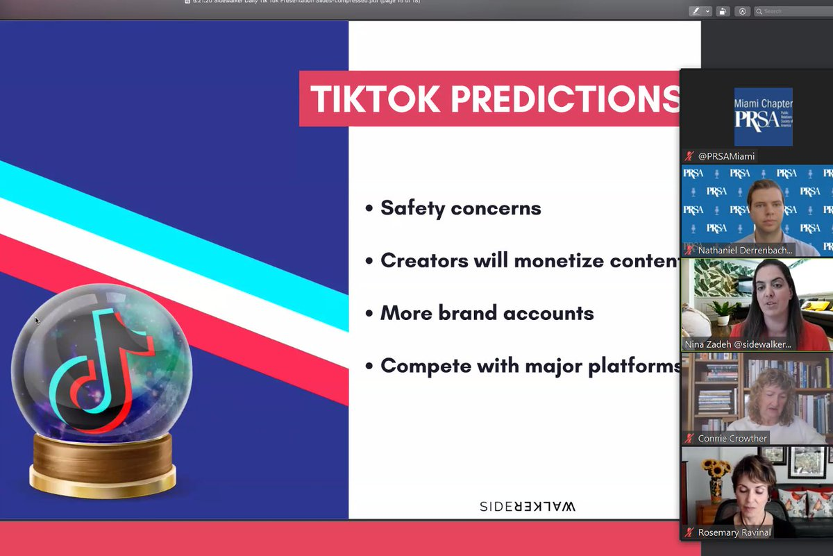 More brand accounts will be appearing and humanized content will be big as more people jump on #tiktok post #Covid_19 @SidewalkerDaily pic.twitter.com/nnl7x11xdN