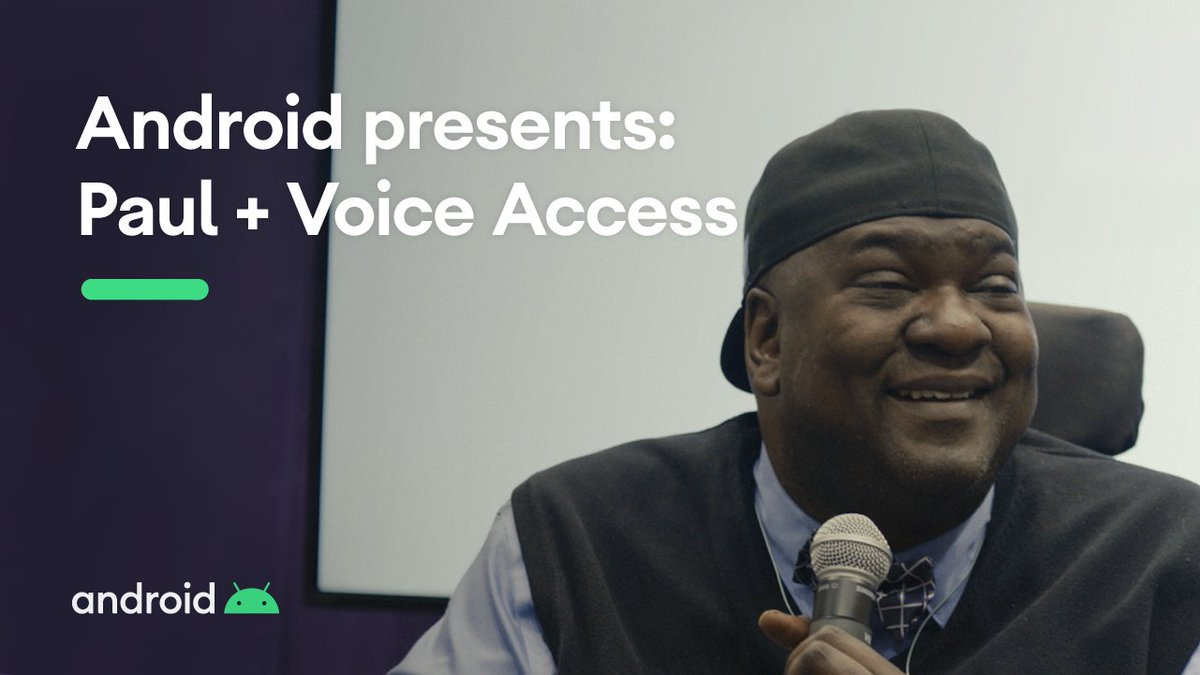 """""""Technology has given me a power beyond what I could have ever imagined.""""  @amadeus2k uses Android accessibility features like Voice Access to live a hands-free life. Learn how he shares his passion for adaptive technology to connect with others. #GAAD https://t.co/78o9wG6Q1F"""