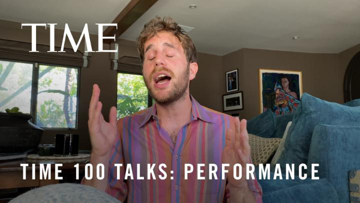 """Watch @BenSPLATT's special performance of """"So Will I"""" from the #TIME100Talks"""