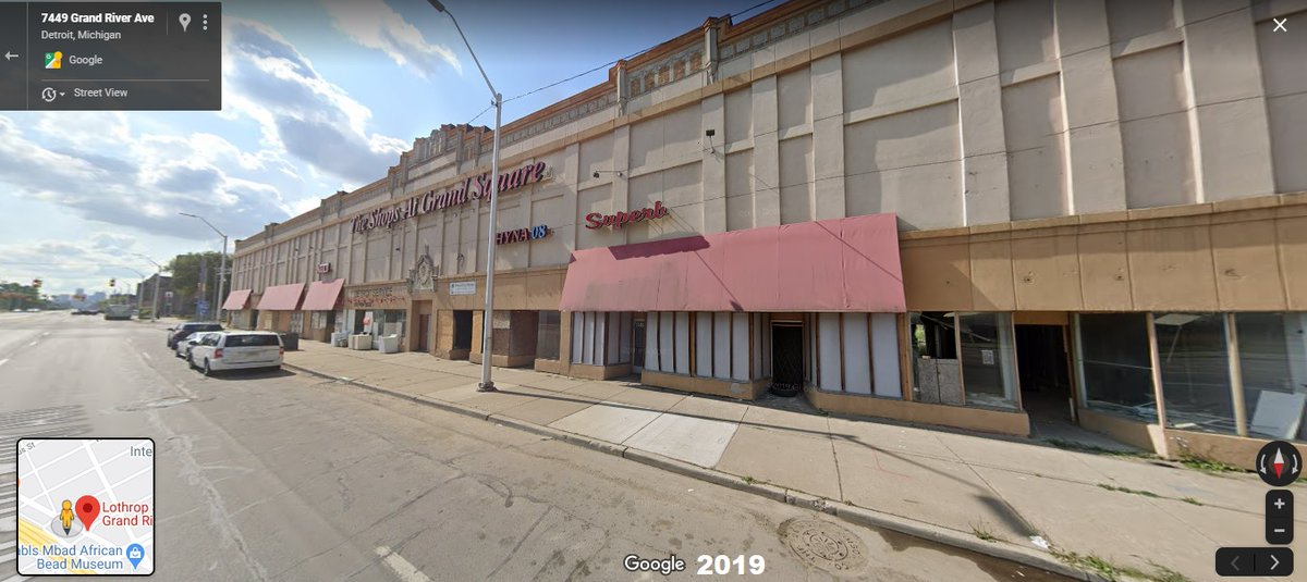Detroit Street View On Twitter Detroit Grand River Seebaldt 1930 S 2019 Another Wpa Road Project In Progress The Former Grace Miller Building Still Stands At Right Albeit With A Tasteless Concrete Facade
