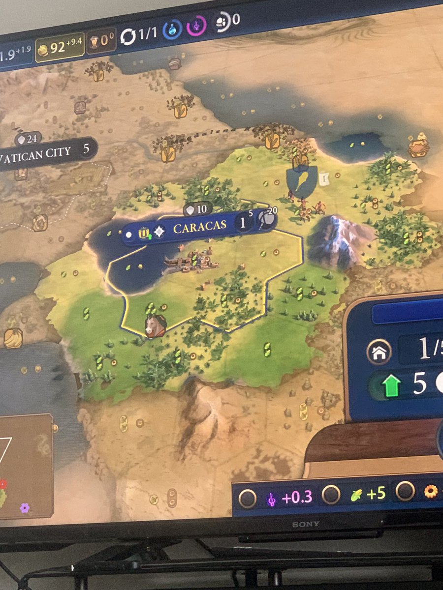 All YOU bitches is my sons #civilization6 #NewFrontier #Caracas pic.twitter.com/NntXjLcu2J