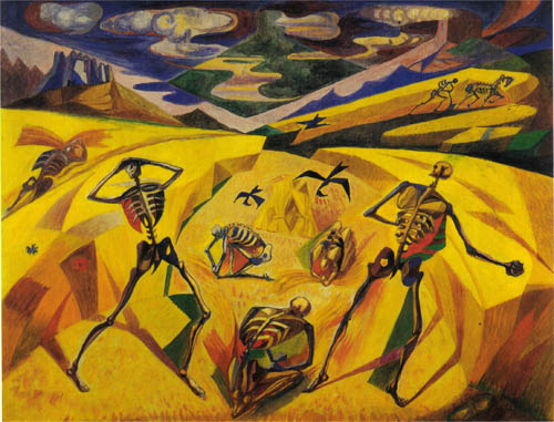 The Andalusian Reapers, 1935 #frenchart #surrealism pic.twitter.com/iMBQlSrjNZ