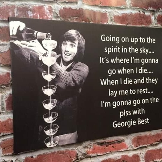 Happy birthday George Best rip