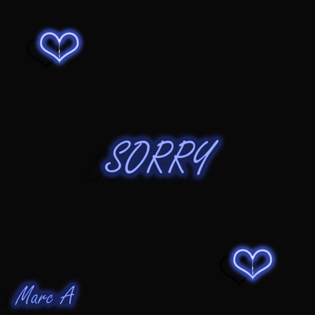 My new single 'Sorry' dropping on all platforms this Saturday at 9pm.  go time! #Sorry #RnB pic.twitter.com/A0dAajLojs