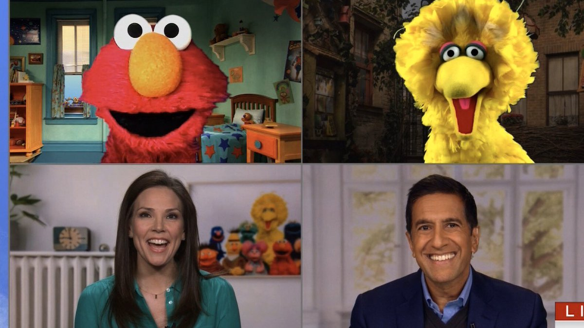 @hbomax @elmo @elmo you will do GREAT! You ask the Q's we all want answered - as we learned at the Town Hall - and you're an excellent listener. I can't wait to watch! 🙌 #NotTooLateShow https://t.co/lDG5Ieeazs