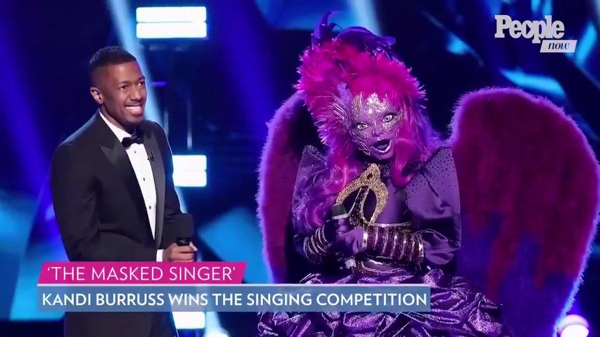 Kandi Burruss (Night Angel!) Wins The Masked Singer Season 3 #PeopleNow