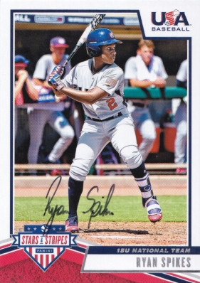 Success with USA Baseball and Tennessee Volunteer's commitment Ryan Spikes.  #ryanspikes #usabaseball #vols #ttm #ttmsuccess #ttmautograph #ttmautographs @autographblog