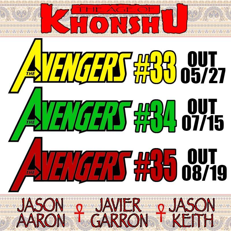Save the dates. Believe the hype #Avengers #AgeOfKhonshupic.twitter.com/cra5N6vva2