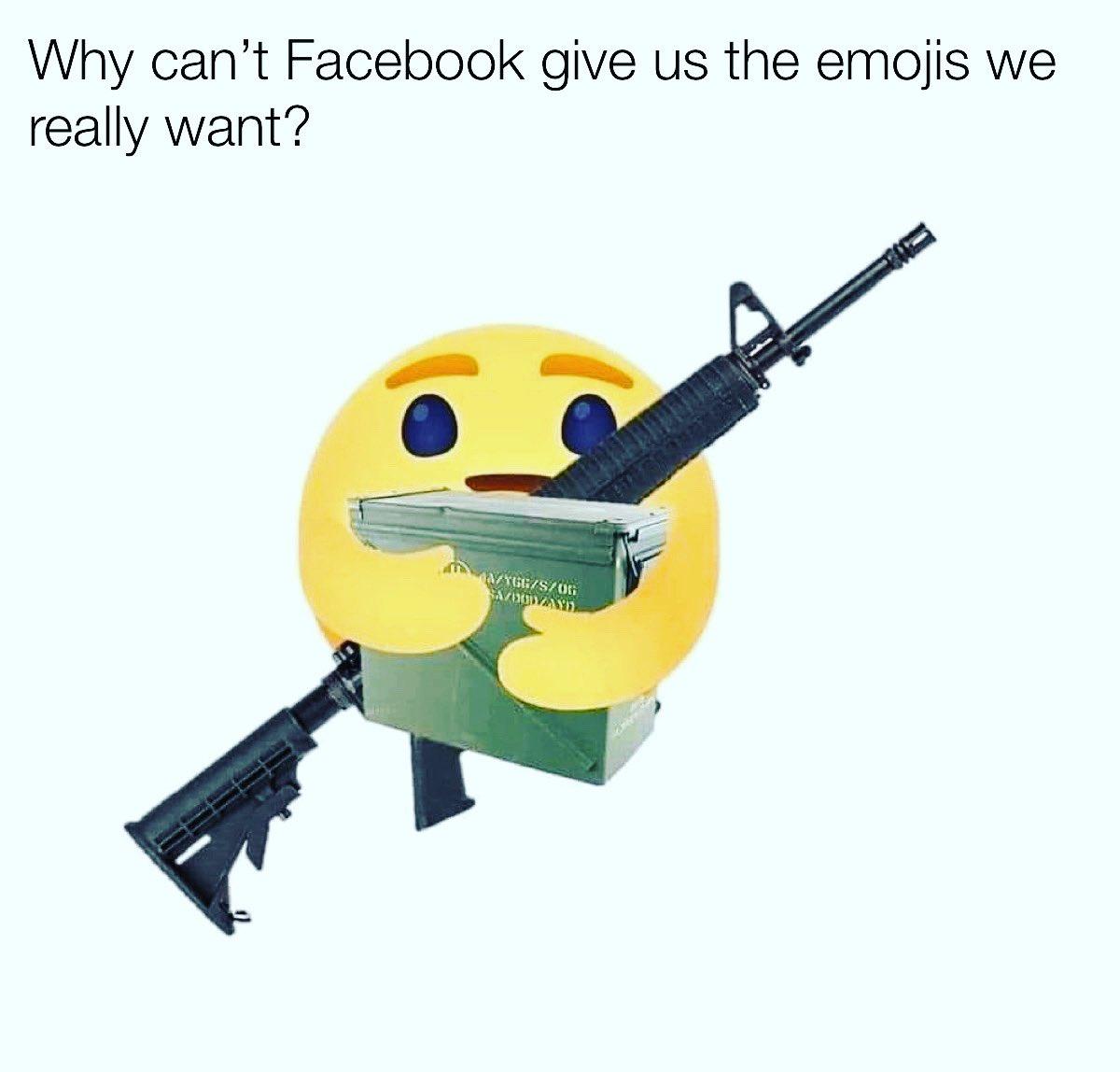 Who loves a good emoji?#memezlab #emoji #guns #gunmemes #memes #meme #memes#memesdaily #dankmemes #memez #memer #memepage #memed #memelife #memestar #memereview #memestagram #memesquad #memeaccount #memelord #memess #memegod #memesrlife #memes4days #memeoftheday #memesterpic.twitter.com/aeiNjB60tM