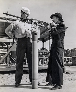Susan Ahn Cuddy was the first Asian-American female US Navy officer. She was involved in flight training, including how to shoot down enemy aircraft. Learn more: pos.li/2fnge7 #APAHM #TBTT
