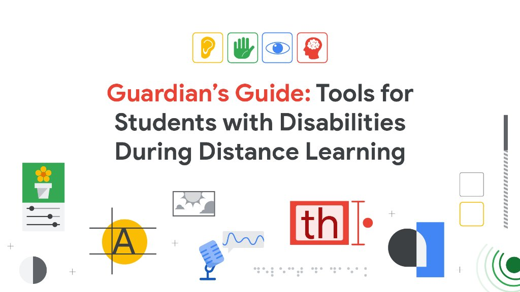 Featuring step-by-step instructions, this in-depth guide is a great resource for parents & guardians to learn how to enable the built-in accessibility tools in #GSuiteEdu and #Chromebooks during #RemoteLearning: goo.gle/3cSmbCA. #DistanceLearning #a11y #GAAD