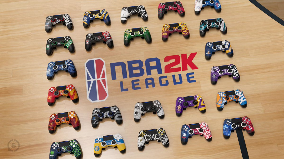 We're celebrating the launch of our NBA2K League Collection with a giveaway! 🎉   To enter:  • RT & Like this tweet • Follow @ScufGaming & @NBA2KLeague • Reply with your favorite #NBA2KL Controller Design   Winner picked Friday, May 29! Good luck, everyone. https://t.co/zwFDnpT674