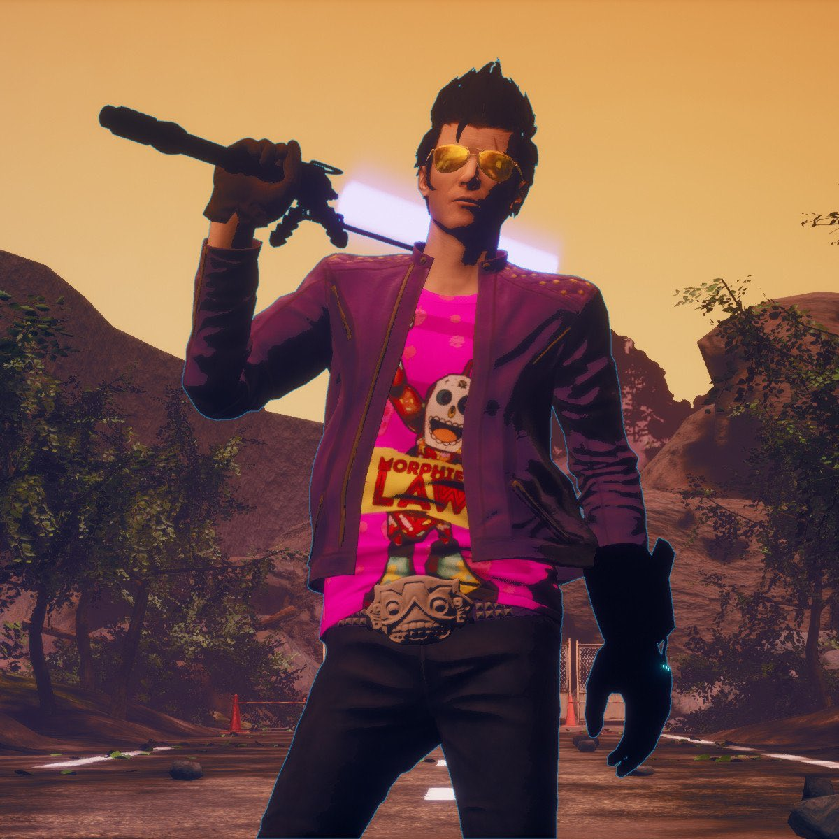7. travis touchdown. this man is disgusting on every single level possible and yet i want to bone him so hard. i love idiots and i love pathetic men and travis... oh my horrible man..... <br>http://pic.twitter.com/kFSjsQBHFw