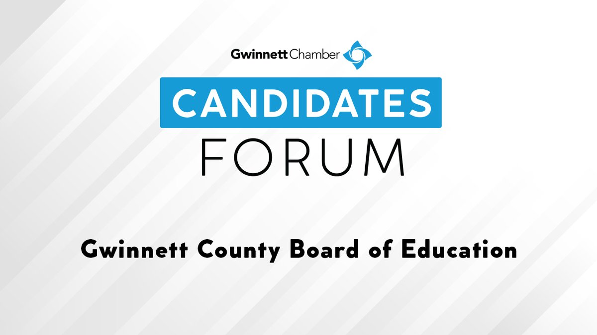 Did you miss today's Candidates Forum featuring Board of Education? Watch here: youtu.be/sxAWHUBqaHY