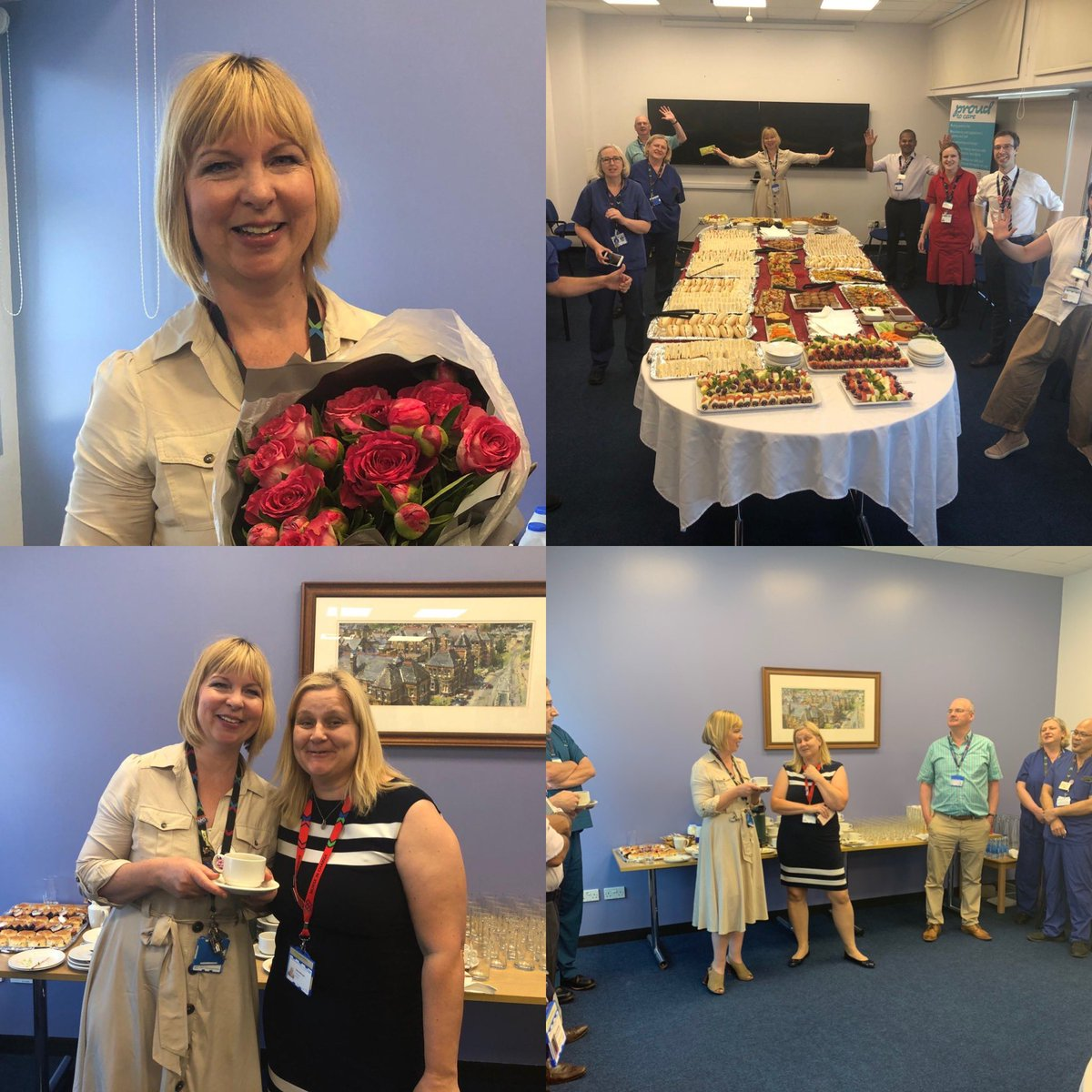 Part one of the amazing @JaneMarieHamil1 leaving party. A BIG loss to the @WestMidHospital team, who will be sorely missed. Looking forward to part two tomorrow #NHShero #legend #whatwillwedowithoutyou @Pauline38937899 @elainemox @theoneNunoCunha @Pippanightinga4